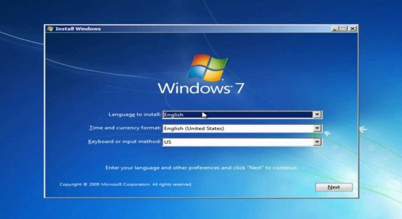 Universal USB Installer for Windows 7