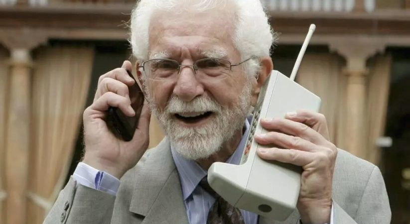 Why was the cell phone invented