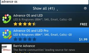 Trick Changing Color LED Lamp in Blackberry without Application