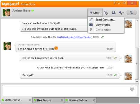 Nimbuzz for PC free download