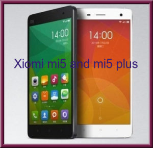 Xiaomi mi5 and mi5 plus preview images