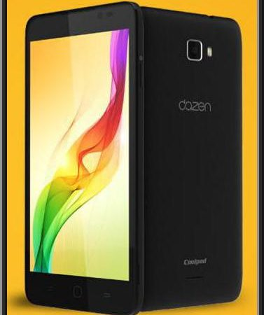 Coolpad Dazen one is available for just RS.6,999/-