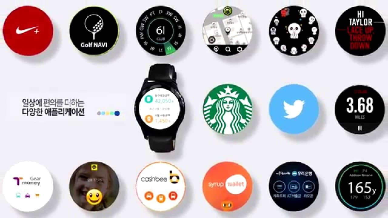 Samsung Gear S2 Applications